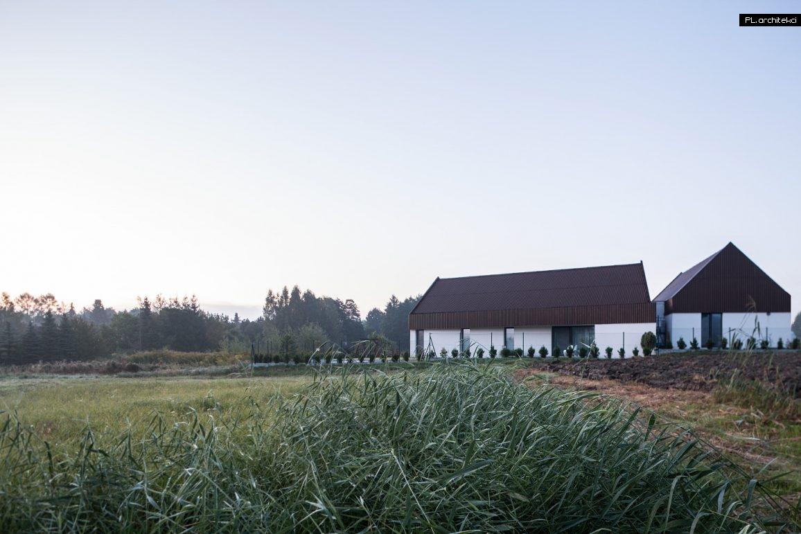 nowoczesny dom w stylu stodoły