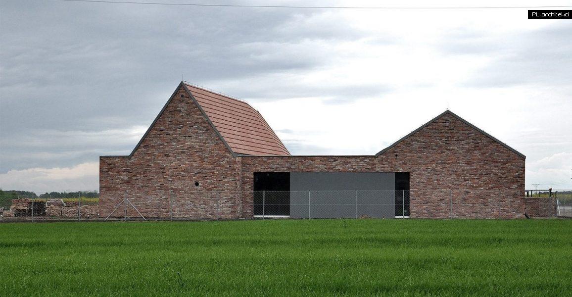 Nowoczesna stodoła - dom jednorodzinny | Niałek Wielki