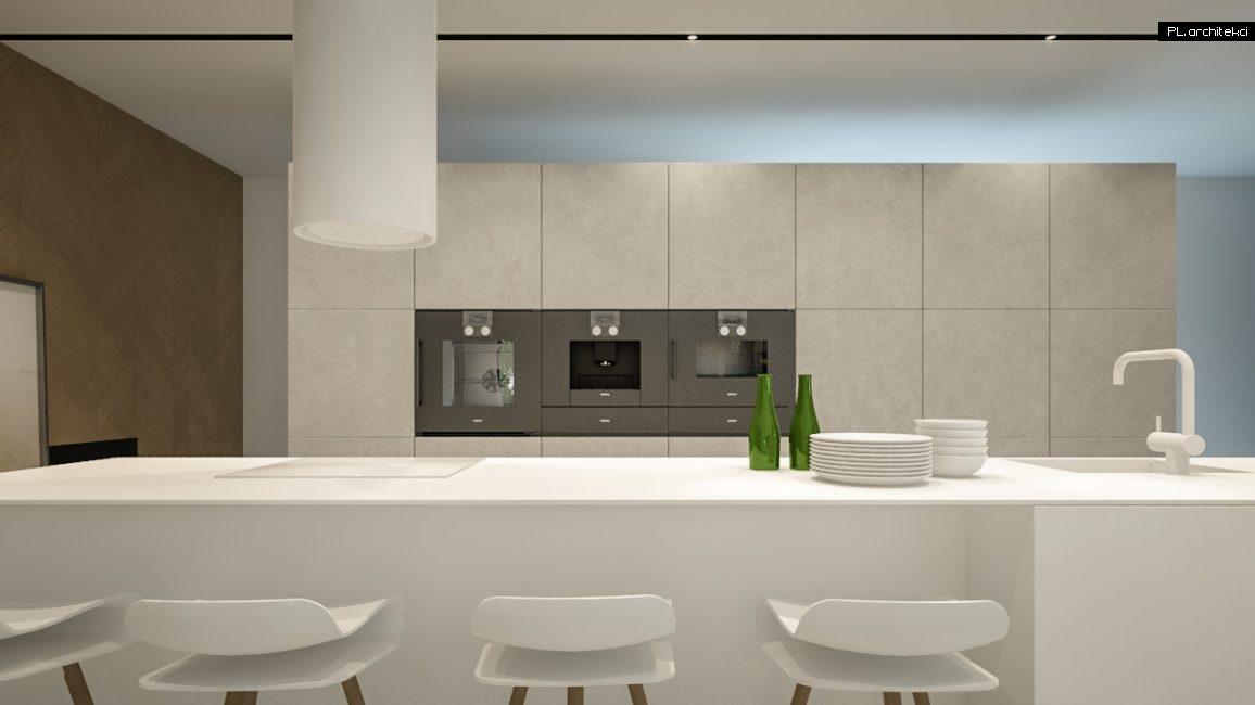 Nowoczesne wnętrze domu jednorodzinnego: kuchnia | Lusówko
