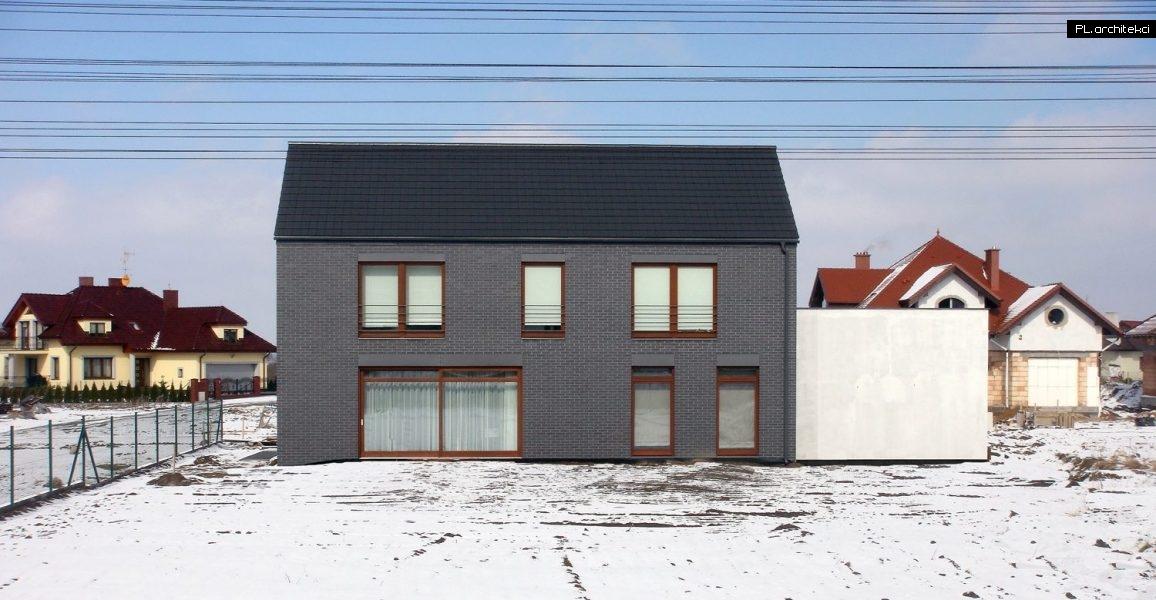 Nowoczesny dom z cegły | Szreniawa