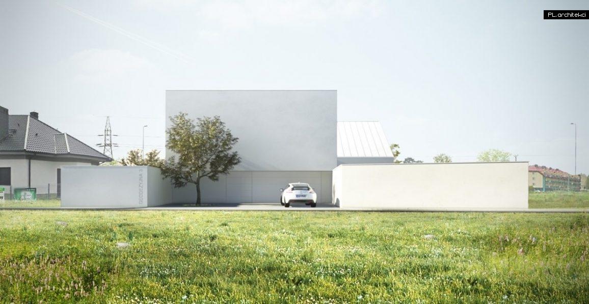 Nowoczesny dom minimalistyczny | Głogów