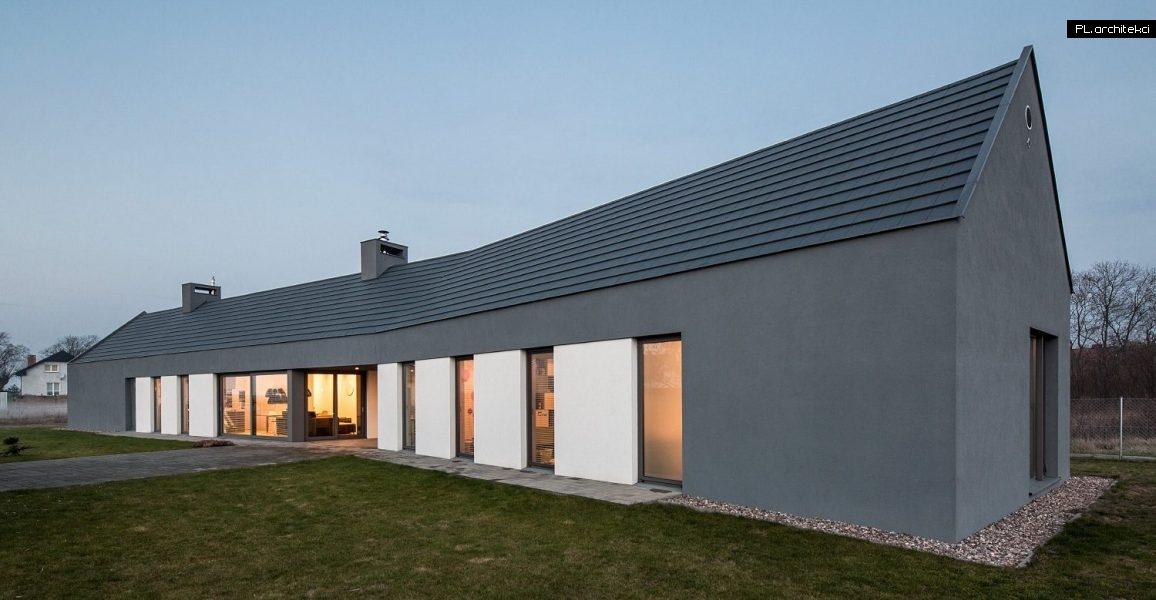 Nowoczesny dom jednorodzinny - stodoła | Ceradz Kościelny