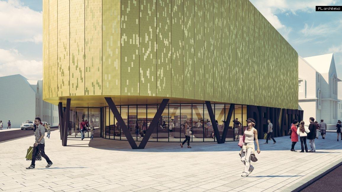 Budynek handlowo-usługowy | Wolsztyn