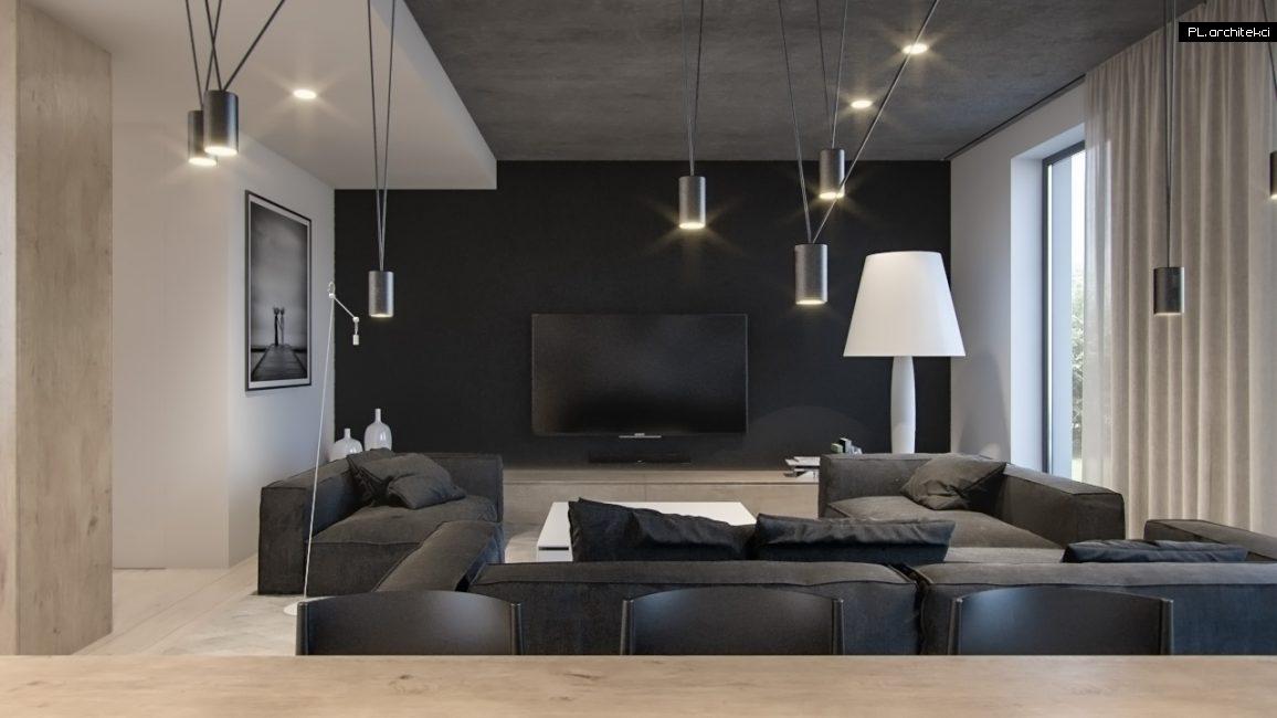 Nowoczesne wnętrze apartamentu: salon | Poznań
