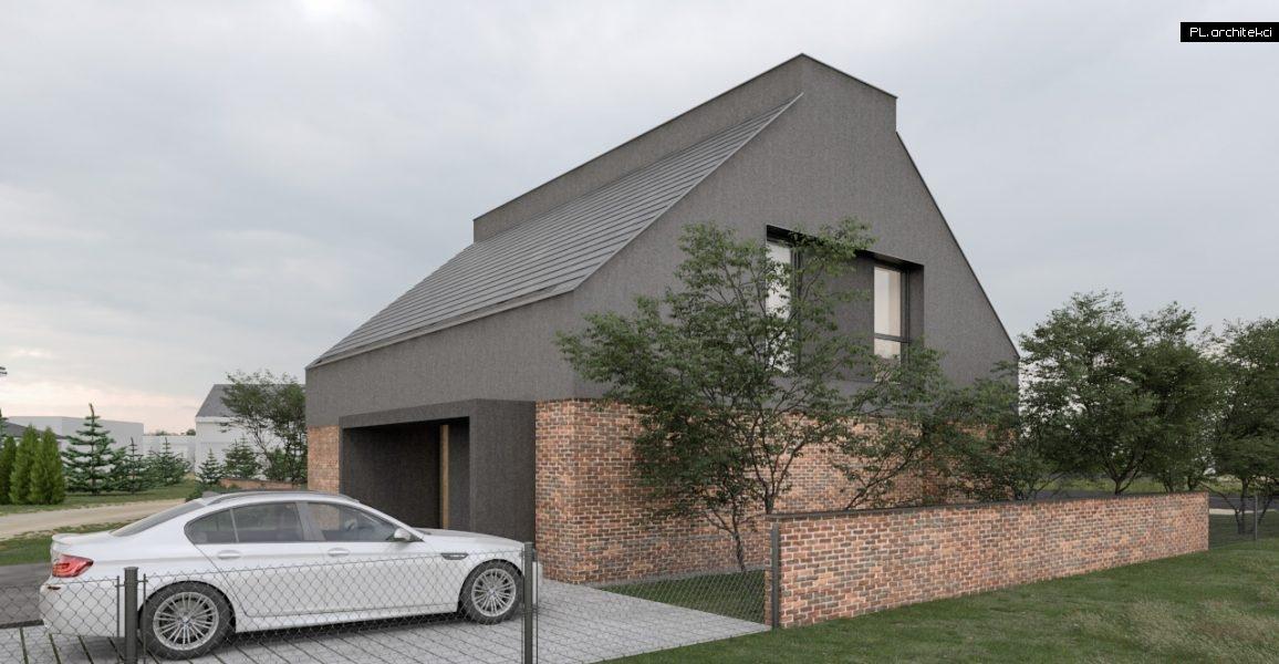 dom z cegły rozbiórkowej architekt poznań plarchitekci